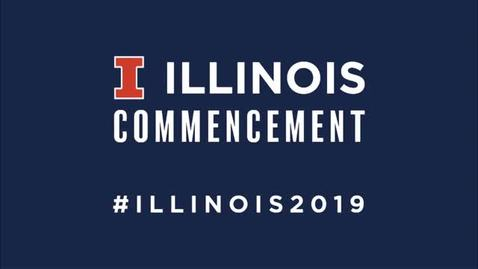 Thumbnail for entry University of Illinois Commencement, May 11, 2019