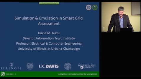 Thumbnail for entry Simulation & Emulation in Smart Grid Assessment