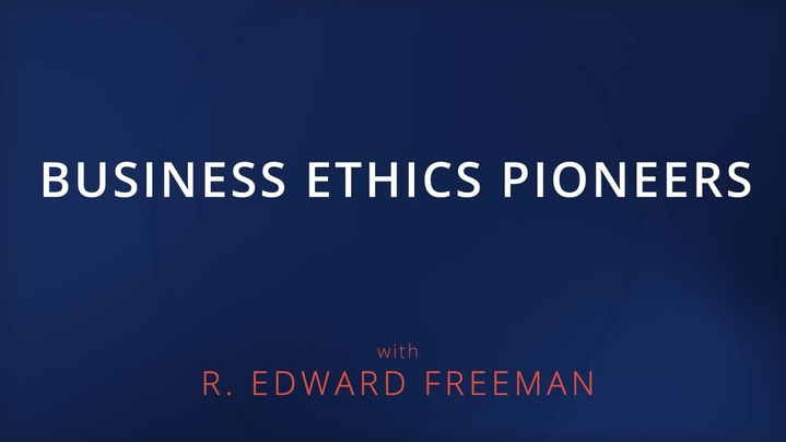 Thumbnail for channel Business Ethics Pioneers