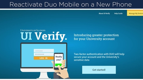 Thumbnail for entry Re-Enroll Your Phone in Two-Factor Authentication