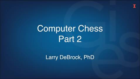 Thumbnail for entry Computer Chess Part 2