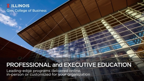 Executive Education Overview