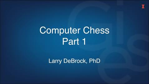 Thumbnail for entry Computer Chess Part 1