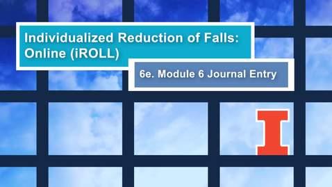 Thumbnail for entry iRoll Mod 6 - Vid 6e - v2