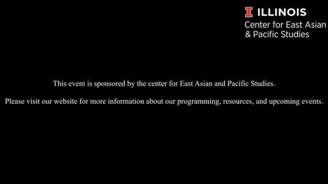 Thumbnail for entry Natalya Rodriguez - JET Program Information Session