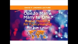 Thumbnail for entry David F. Linowes Lecture on Public Policy and Management