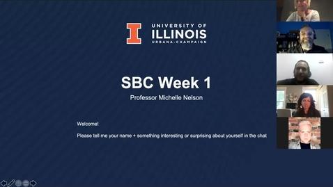 Thumbnail for entry SBC507_Summer 2021_Week 1