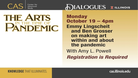 Thumbnail for entry Emmy Lingscheit, Ben Grosser, Amy L. Powell
