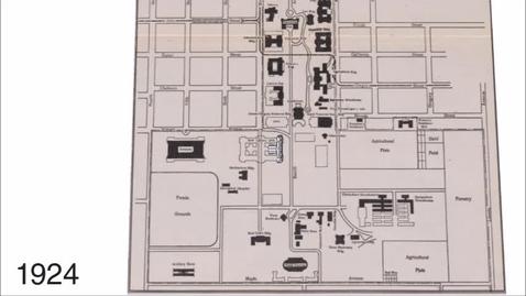 Thumbnail for entry Main Library 1924-1982, 3D model - University Sesquicentennial Celebration
