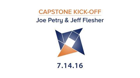 Thumbnail for entry Joe Petry & Jeff Flesher Capstone Kick-Off Webinar