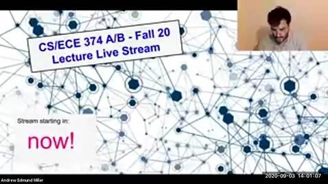 Thumbnail for entry ECE/CS 374 AL1/BL1 - Lecture 4 - NFAs