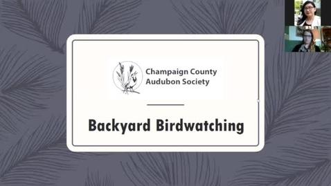 Thumbnail for entry Outdoor Wellness: Backyard Birding