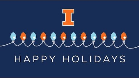 Thumbnail for entry A Holiday Greeting from Chancellor Robert J. Jones