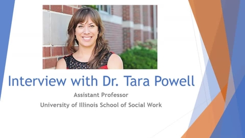 Thumbnail for entry Interview with Dr. Tara Powell