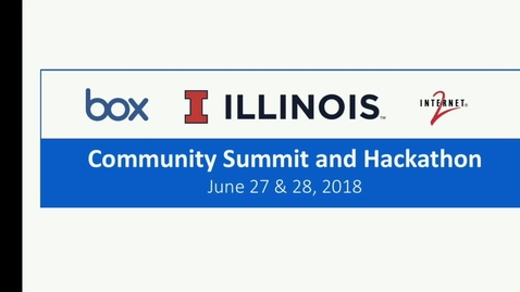 Thumbnail for entry Hackathon Reports