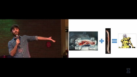 Thumbnail for entry 2018 Research Live! Collin Kaufman: Using Cells to Make a Walking Robot