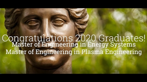 Thumbnail for entry Congratulations MEng Class of 2020!