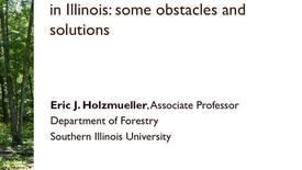 Thumbnail for entry NRES 2013 Spring Seminar Series - Eric J. Holzmueller