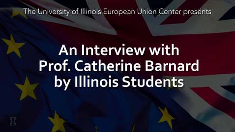 Thumbnail for entry Interview with Prof. Catherine Barnard, University of Cambridge, on the current state of Brexit, 4 Oct 2019