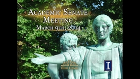 Academic Senate Meeting, Mar. 9, 2015