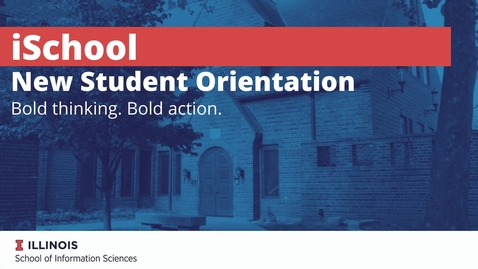 Thumbnail for entry iSchool College Meeting New Student Registration Fall 2021