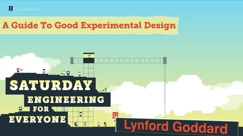 Thumbnail for entry Saturday Engineering for Everyone, April 18, 2015