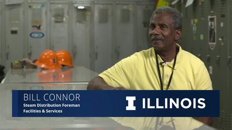 Thumbnail for entry The Illinois Professional: Bill Connor