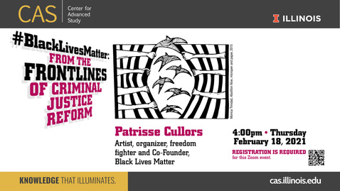 Thumbnail for entry Patrice Cullors, From the Frontlines of Criminal Justice Reform, February 18, 2021