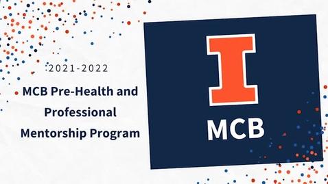 Thumbnail for entry Beginnings of the MCB Alumni Mentoring Program