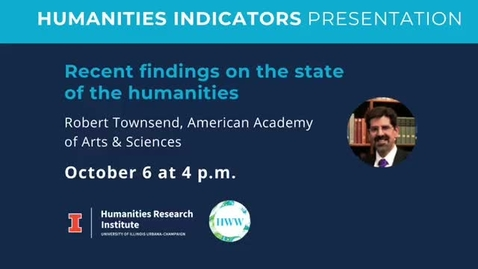 Thumbnail for entry Humanities Indicators