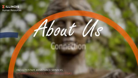 Thumbnail for entry About Us: Connection