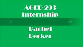 Thumbnail for entry Internship - 4-H Monroe County - Rachel Recker