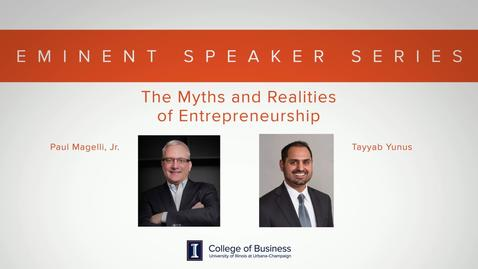 Thumbnail for entry Eminent Speaker Series: A Conversation with Paul Magelli