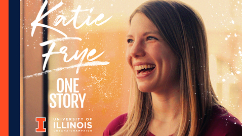 Thumbnail for entry One Story: UIUC Ph.D. Student, Katie Frye, Microbiology