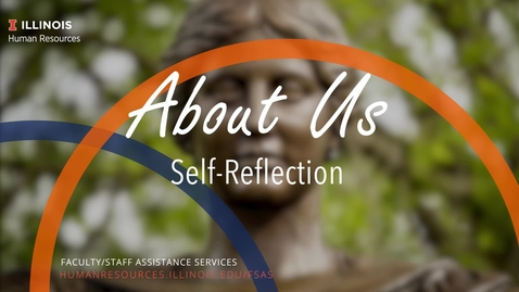 Thumbnail for entry About Us: Self-Reflection