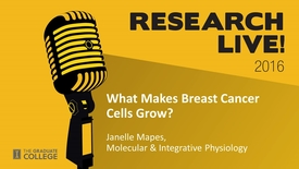 Thumbnail for entry Research Live 2016 - Janelle Mapes