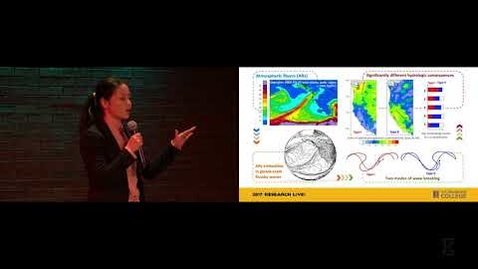Thumbnail for entry 2017 Research Live! Finalist: Huanci Hu - Atmospheric Rivers & Flooding