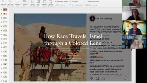 Thumbnail for entry HGMS workshop: How Race Travels: Viewing Israel through a Colored Lens with Bryan Roby