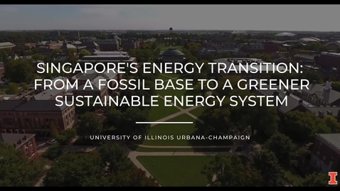 Thumbnail for entry Singapore's Energy Transition: From a Fossil Base to a Greener Sustainable Energy System