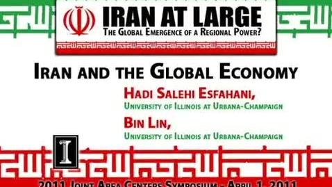 Thumbnail for entry Iran and the Global Economy
