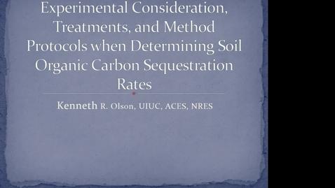Thumbnail for entry NRES 2014 Fall Seminar Series 141205 - Kenneth R. Olson (unedited)