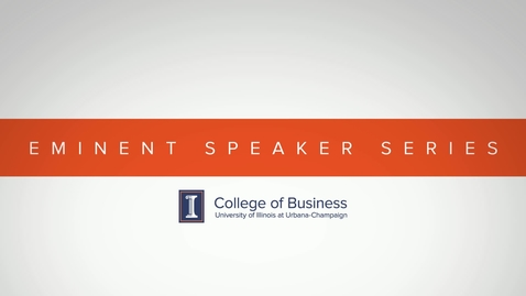 Thumbnail for entry Eminent Speaker Series: A Conversation with Diane Nobles