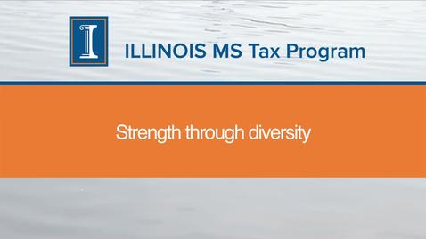 Thumbnail for entry Diversity of the MS Tax Program