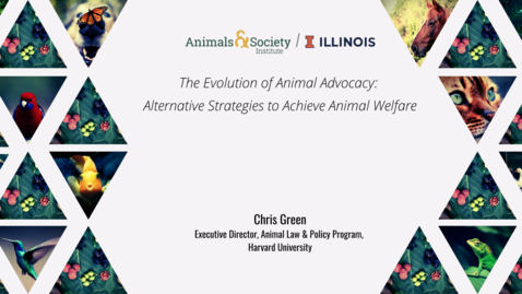 Thumbnail for entry Chris Green, Evolution of Animal Advocacy, 2021 ASI UI Summer Institute