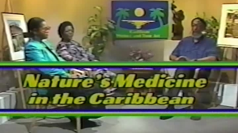 Thumbnail for entry Caribbean Writers and Their Art: Nature's Medicine in the Caribbean (1991)