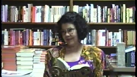 Thumbnail for entry Fiction and Poetry Readings: Olive Senior (1995)
