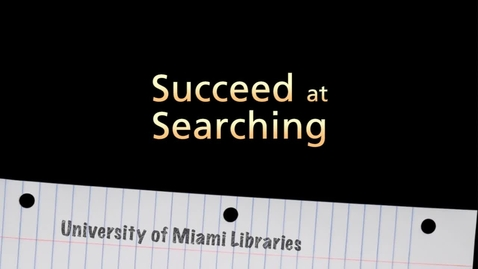 Succeed at Searching (Full Version)