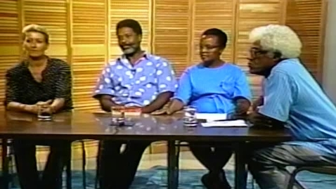 Thumbnail for entry Caribbean Writers and Their Art: Rawle Frederick, Jean Goulbourne, and Maria van Enckevort interviewed by George Lamming (1992)