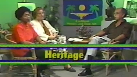 Thumbnail for entry Caribbean Writers and Their Art: Heritage (1991)