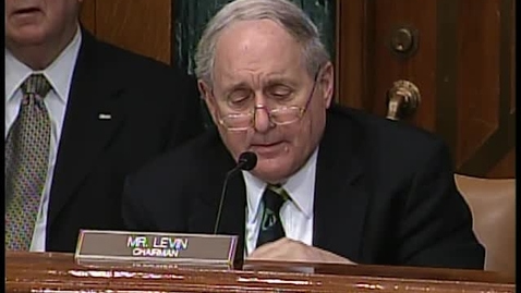 Thumbnail for entry Armed Services Committee Hearing
